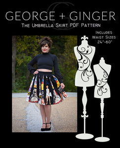 Umbrella Skirt (YouTube Exclusive) PDF Sewing Pattern
