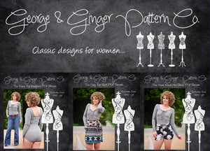 The Confidence Collection PDF Sewing Pattern