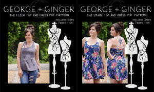 The Strappy Set (Women's Sizes) PDF Sewing Pattern