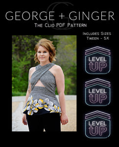 The Clio *Level Up* PDF Sewing Pattern