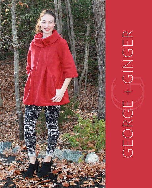 The Cold Snap Coat PDF Sewing Pattern
