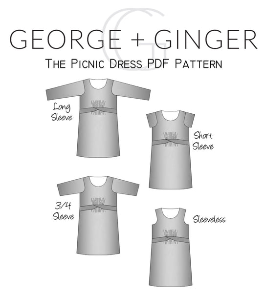 The Picnic Dress PDF Sewing Pattern