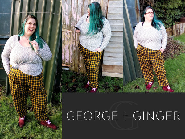 The Everlong Pants PDF Sewing Pattern