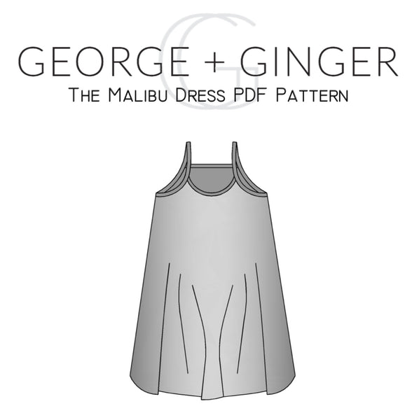 The Malibu Dress PDF Sewing Pattern