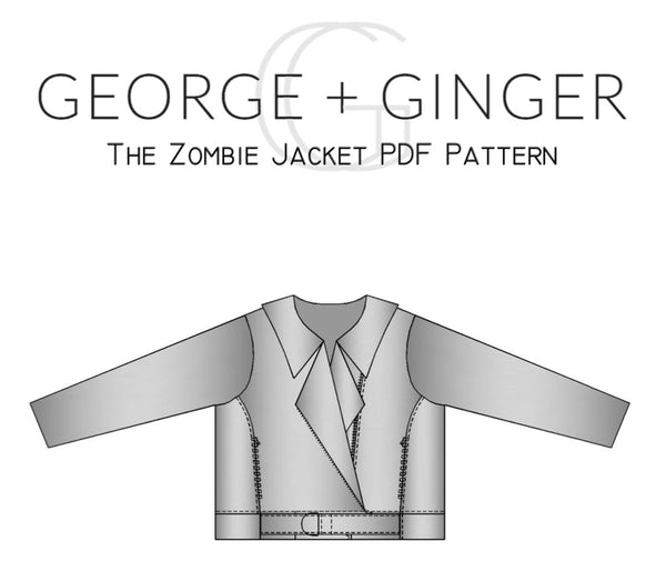 The Zombie Jacket PDF Sewing Pattern