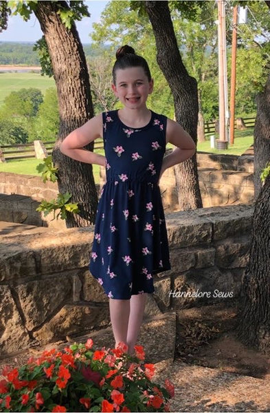 The With Care Dress PDF Sewing Pattern