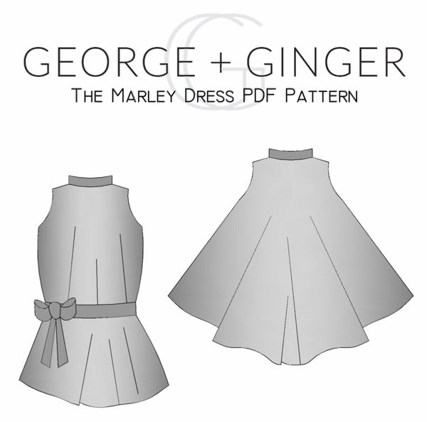 The Marley Dress PDF Sewing Pattern