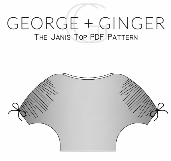 The Janis Top PDF Sewing Pattern