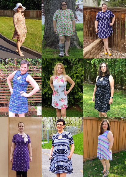 The Drama Dress PDF Sewing Pattern