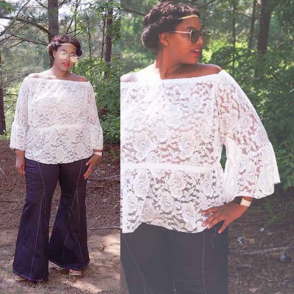 The Lollapalooza Top (Women's Sizes) PDF Sewing Pattern