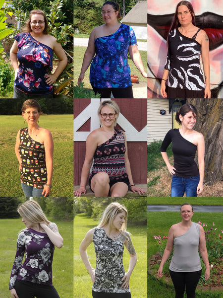 The Edgy Top PDF Sewing Pattern