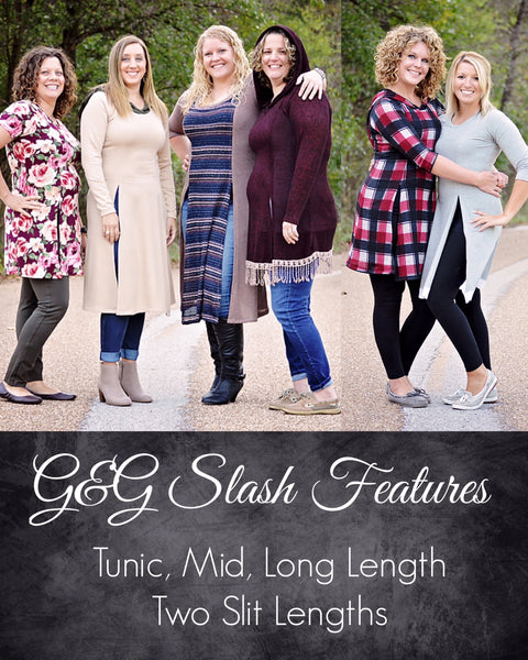 The Slash Tunic PDF Sewing Pattern