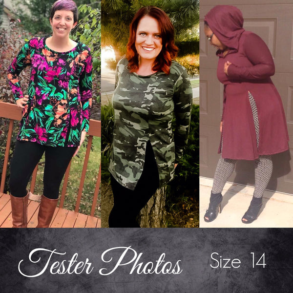 The Slash Tunic (Women's Sizes) PDF Sewing Pattern