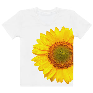 G+G Sunflower Tee (White)