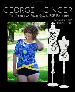 The Daybreak Rash Guard PDF Sewing Pattern