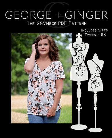The GGVNeck PDF Sewing Pattern