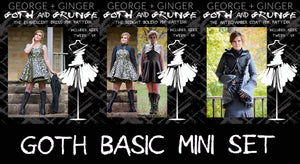 Basic Goth Mini Set PDF Sewing Pattern