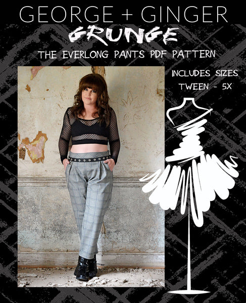 Ultra Grunge Mini Set PDF Sewing Pattern