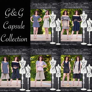 The Capsule Collection (Women's Sizes) PDF Sewing Pattern