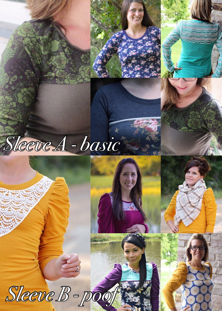 The Super Sleeve Top (Women\'s Sizes) PDF Sewing Pattern – George And ...