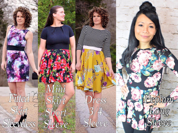 The Jawbreaker Dress (Women's Sizes) PDF Sewing Pattern