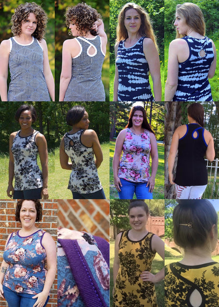 The Groove Tank (Women's Sizes) PDF Sewing Pattern