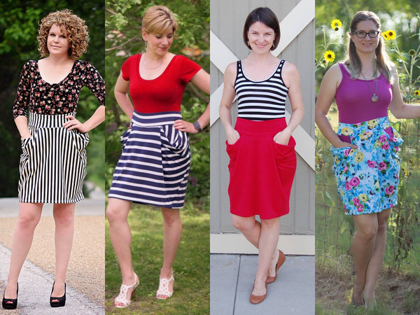 The Day Trip Skirt (Women's Sizes) PDF Sewing Pattern