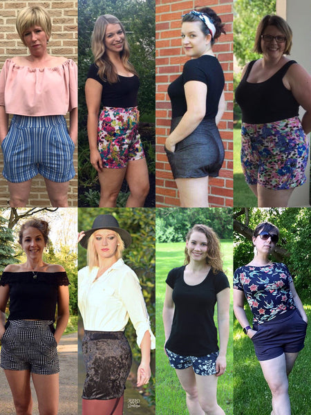 The Heat Wave Hot Pants PDF Sewing Pattern