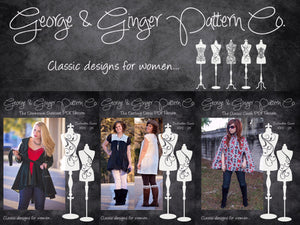 The Keeping It Classy Collection (Women's Sizes) PDF Sewing Pattern
