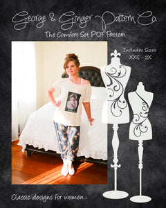 The Comfort Set (Women's Sizes) PDF Sewing Pattern