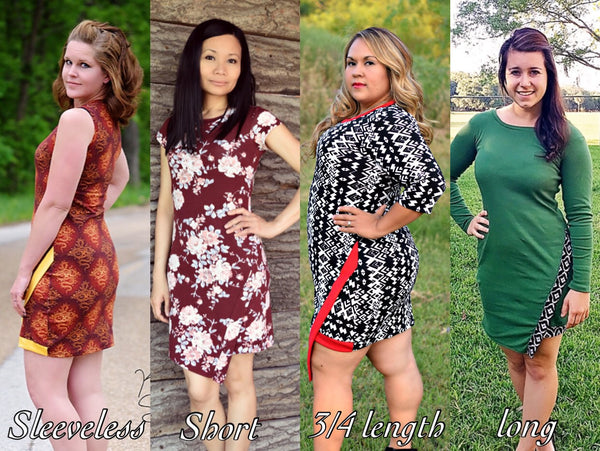 The Vacation Dress (Women's Sizes) PDF Sewing Pattern