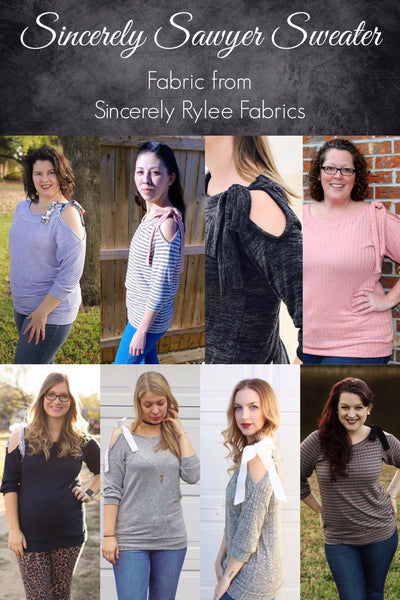The Sincerely Sawyer Sweater PDF Sewing Pattern