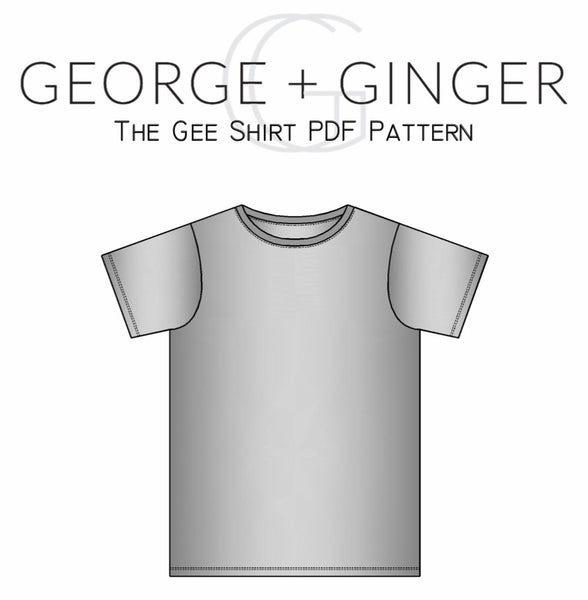 Gee Shirt (YouTube Exclusive) PDF Sewing Pattern