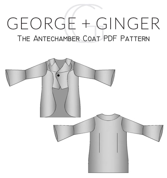 The Antechamber Coat PDF Sewing Pattern
