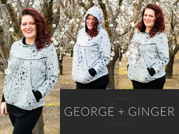 The Monna Hoodie (Women's Sizes) PDF Sewing Pattern