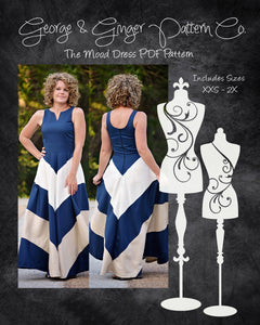 The Mood Dress PDF Sewing Pattern