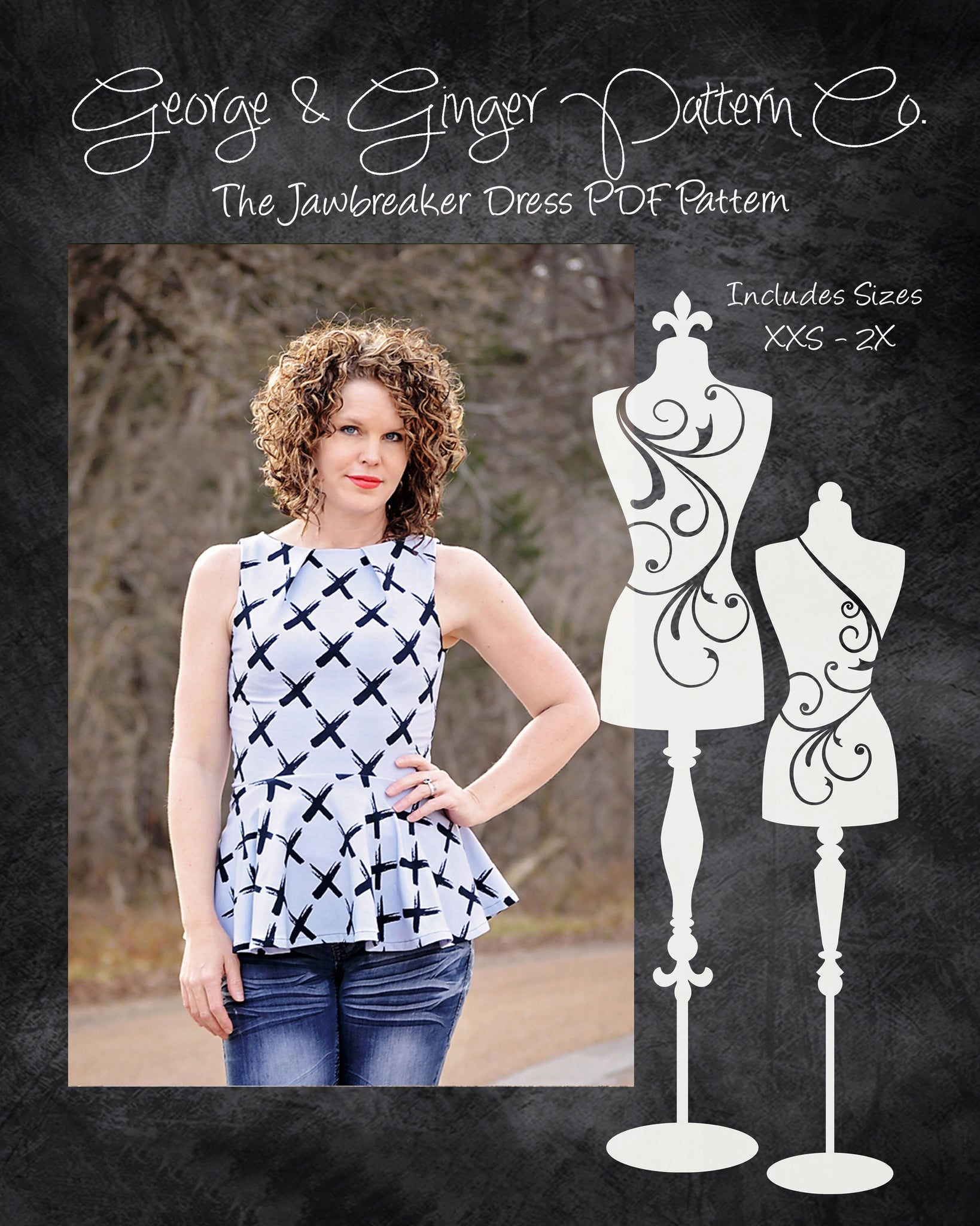 The Jawbreaker Dress PDF Sewing Pattern