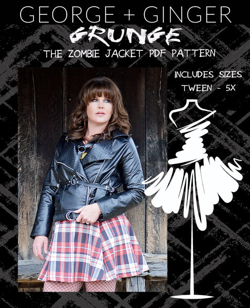 Grunge Starter Pack Collection PDF Sewing Pattern