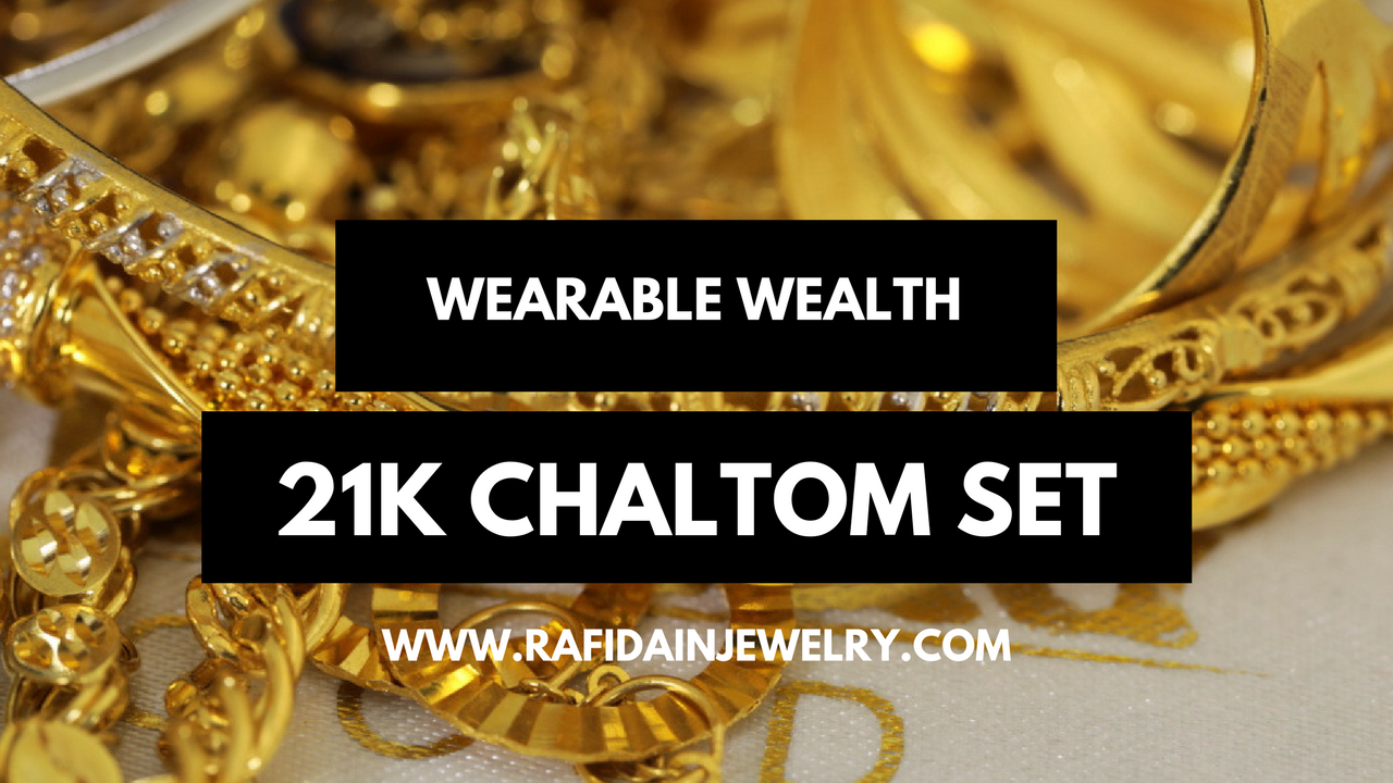 21k Chaltom Set on RafidainJewelry.com