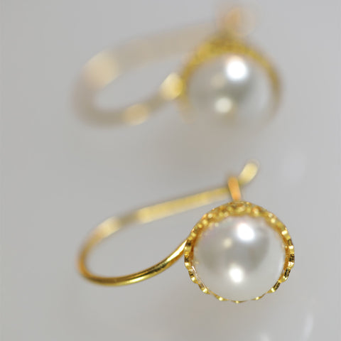 Chiara Round Earrings