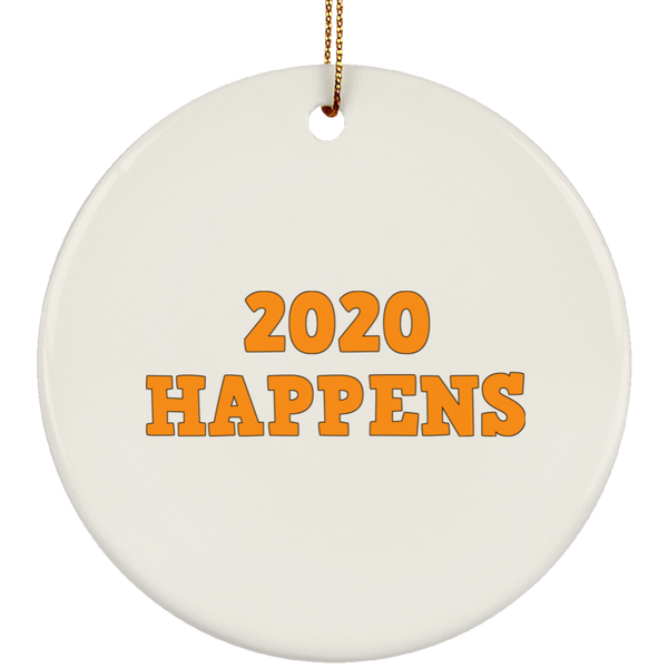 2020 Happens SUBORNC Ceramic Circle Ornament