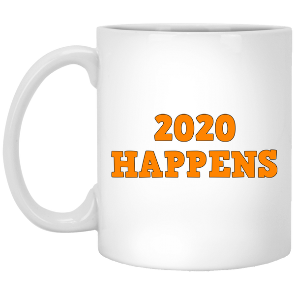 2020 Happens 11 oz. White Mug