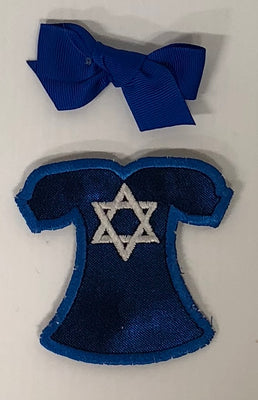 Star of David - Blue Dress