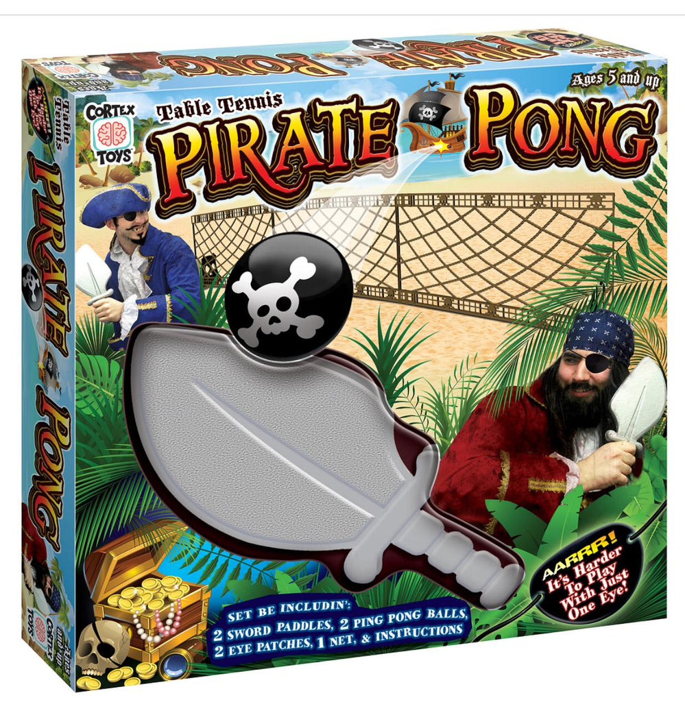Pirate Pong - Portable Table Tennis