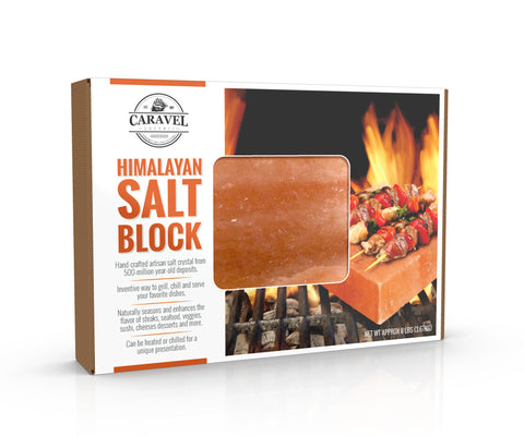 Himalayan Salt Block - by Caravel Gourmet
