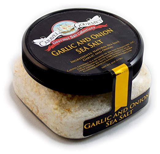 Gourmet Garlic & Onion Sea Salt-Grocery-Caravel Gourmet