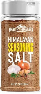Healthy Himalaya Seasoning Salt - All-Natural Himalayan Salt Blend for Meats, Vegetables, Pretty Much Anything - 14 Ounces-Grocery-Caravel Gourmet