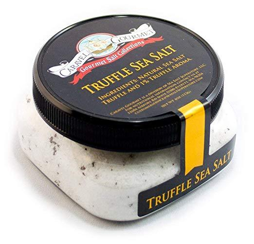 Italian Black Truffle Sea Salt-Caravel Gourmet