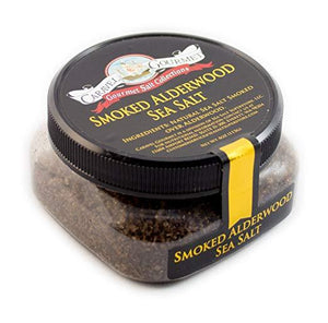 Smoked Alderwood Sea Salt Fine-Grocery-Caravel Gourmet