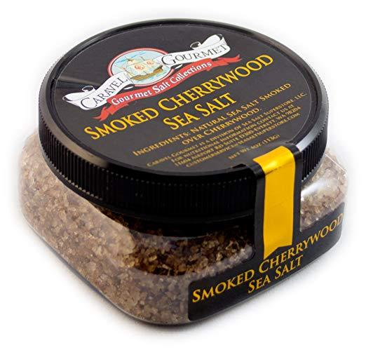 Smoked Cherrywood Fine Sea Salt-Grocery-Caravel Gourmet